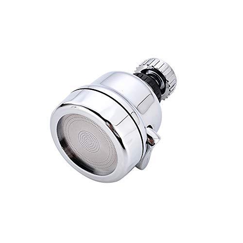 360° Giratorio Aireador de Grifo, 3 modos Difusor de Boquilla de Grifo, Filtro Grifo Cocina Ajustable para cocina, baño y ducha