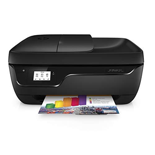 HP OfficeJet 3833 Stampante Multifunzione a Getto di Inchiostro, Stampa, Scannerizza, Fotocopia, Fax, Wi-Fi Direct, 2 Mesi di Servizio Instant Ink Inclusi, Nero