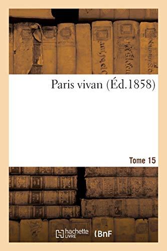 Paris vivant T15