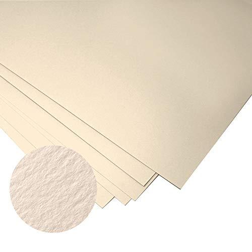 Papel Fabriano Unica (crema) para el grabado - 250gsm - 10 hojas de 50 x 70 cm papel