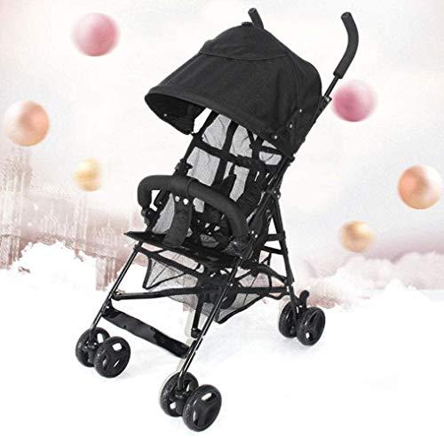 Landaus Poussettes Buggy Compact, Poussette Poussette Transport, Portable Anti-Shock Poussette Poussette Fournitures pour bébé