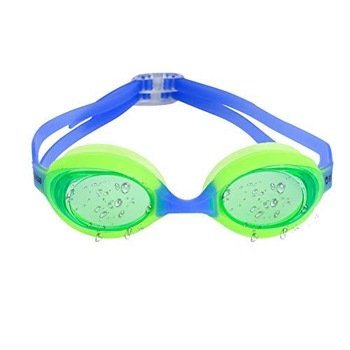 Gafas de natación para niños con protección UV y lentes antiniebla, incluye tapones de oídos y duradero–Soporte por splaqua