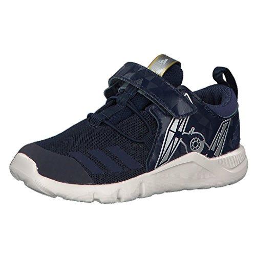Adidas Starwars Rapidaflex I, Zapatillas de Estar por casa Unisex niños, Azul (Maruni/Indnob/Blatiz 000), 20 EU