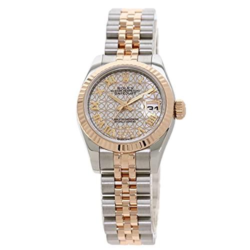 [ロレックス]デイトジャスト ロータスフラワー 179171NR 腕時計 ステンレススチール/SSxK18PG レディース (中古)