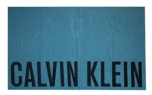 Calvin Klein - Toalla de playa, color azul