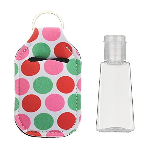 YSJJNDH Envase de Botella 1 PC 30 ml desinfectante de Manos Tapa Tapa Llavero Titular de Llavero contenedores de líquidos Tapa Botellas Reutilizables Llavero Llavero Accesorios de Viaje (Color : 16)