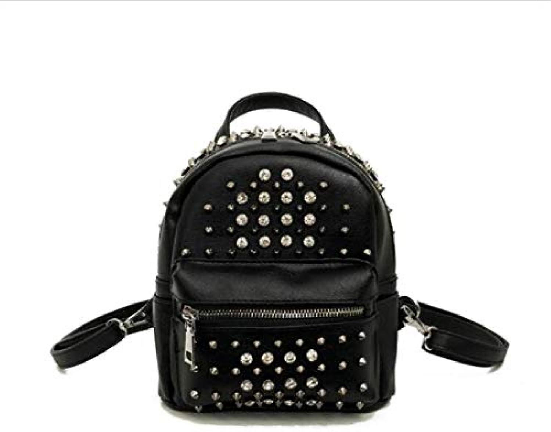 ASHIJIN Hot Women Backpack Black Style Multifunctional Mini Bags Travel Bags