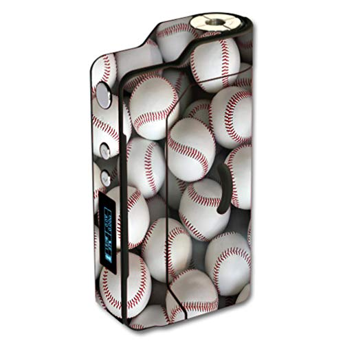 Decal Sticker Skin WRAP Lots of Baseballs for Sigelei 150W Temp Control