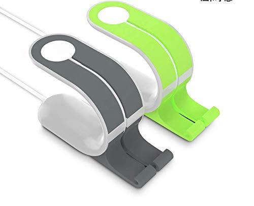 Handy-Uhr-Tablet-Standfuß lazy Smart-Ladebanduhr Grau