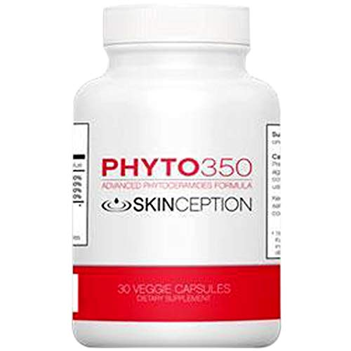 Skinception Phyto350 Advanced Phytoceramides Formula (30 ct) - 1 Month Supply