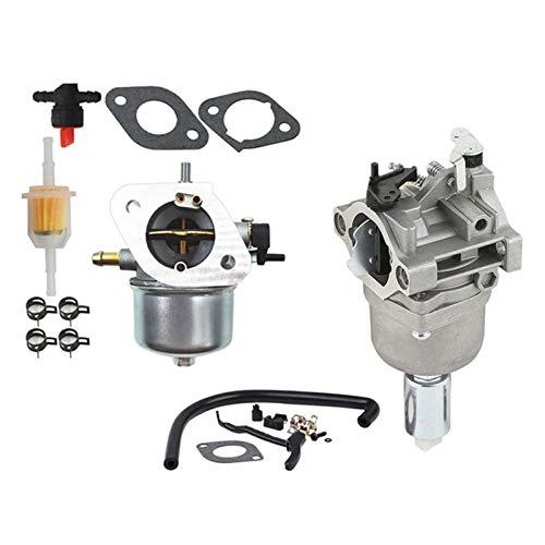 UGUTER Go Kart Carburetor Carburador para 799727 698620 791886 690194 y carburador para el Motor Kawasaki FH430V FS481V 15003-7047 Carburador 125cc (Color : Silver)