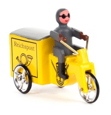 Miniatuur voertuig miniatuur driewieler