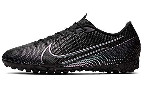 Nike Mercurial Vapor 13 Academy TF (10 Women /+D409:D437 8.5 Men M US) Black