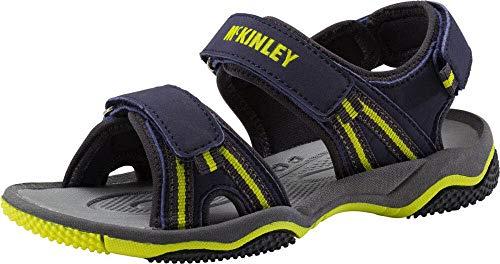 McKINLEY Reece II, Chaussures de Randonnée Basses Mixte Enfant, Marron Gris Foncé, 28 EU