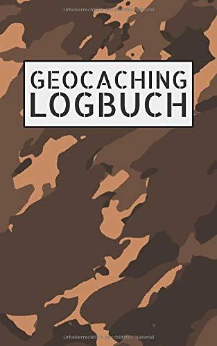 Geocaching Logbuch: Notizbuch und Logbuch für Geocacher - Geocaching Zubehör und Ausrüstung Nano - Log mit Platz für 200 Eintragungen - Geocach Buch als Versteck für Flasche oder Dose und FIlmdose