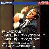 モーツァルト:交響曲第36番「リンツ」、第38番「プラハ」
