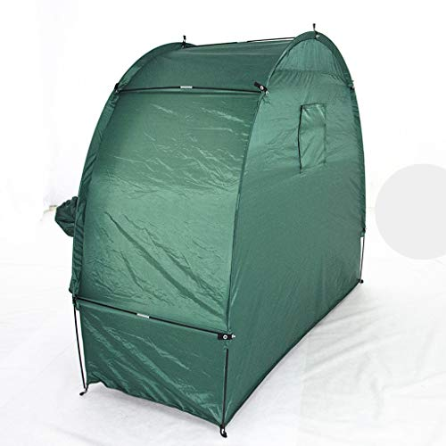 Bike Cover 190T Bicycle Shed Tent with Canvas Window Garden and Pool Storage Durable Weatherproof 78.7x34.6x65in