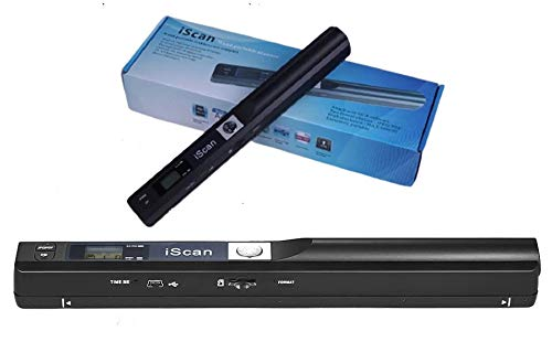 Microware Scanner Mini Handheld Document Scanner iScan Portable A4 Book Scanner JPG and PDF Format 300 600 900 DPI