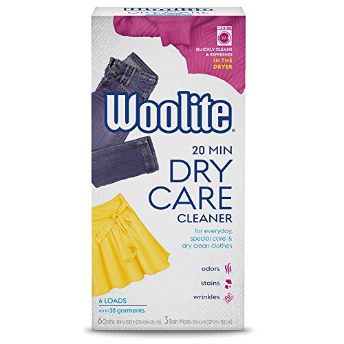 Product Image of the Woolite At Home Dry Cleaner, Fresh Scent, 6 Cloths