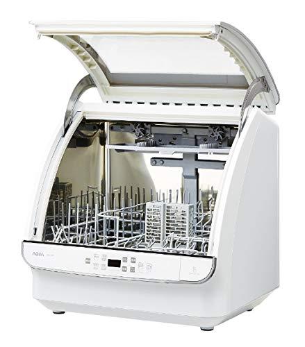 アクア食器洗い機(ホワイト)【食洗機】【送風乾燥機能付き】AQUAADW-GM1-W