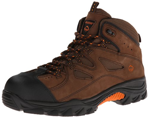 Wolverine Men's W02194 Hudson Boot, Brown/Black, 10 M US