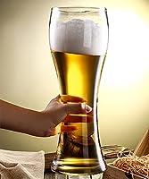 大容量ビールジョッキ 特大 ワイングラス 3000ML大ジョッキ 特大スムージーカップ 超大シャンパングラス ビールグラス ジョッキ大ジョッキ 巨大ビアジョッキ かき氷カップ 直径12 CM、高さ35 CM 特大パーティーワイングラス イングラス 巨大ワイングラス ワインのフルボトルを保持しウィ 結婚式 カフェ