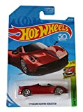 Hot-Wheels Exotics `17 Pagani Huayra Roadster 1:64 Modelo de Coche a Escala para niños y coleccionistas