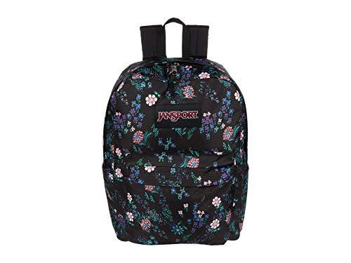 JanSport Superbreak Plus Backpack - School, Work, Travel, or Laptop Bookbag with Water Bottle Pocket, Enchanted Garden