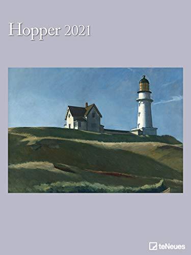 Hopper 2021 - Kunst-Kalender - Poster-Kalender - 48x64