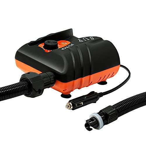Bomba de aire alta eléctrica, inflador de bomba de aire portátil 16PSI, función de auto-apagado para colchón de aire, para colchones de aire Camas Boats de natación Piscina inflable Juguetes