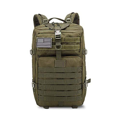 50L de gran capacidad hombres ejército militar táctico mochila 3P softback impermeable al aire libre Bug mochila senderismo camping Caza Bolsas
