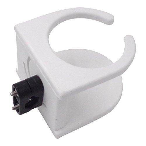 PETSOLA Blanco Conveniente Vaso de Plástico Soporte para Bebidas Barco Marino Universal RV Nuevo