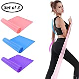 DB Resistance Bands(Set of 3),Elastic Band for Exercise,Yoga...