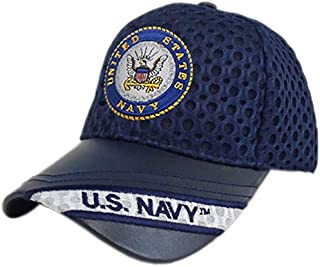 KnS Unique U.S. Navy Logo Mesh Cap [Adjustable Hat]