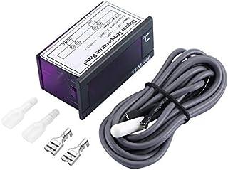 Mazhar TPM-900 Vitrine réfrigérée Thermomètre électronique numérique avec contrôleur de température de sonde de capteur - ...