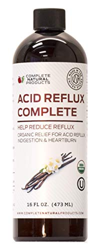 Acid Reflux Complete 16oz - Natural Organic Liquid Heartburn, GERD, Amish Reflux Relief Remedy & Medicine