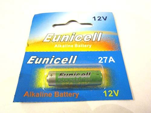 Eunicell 1 x 27A 12V MN27, A27, V27GA, L828, GP27A (1 Blistercards a 1 Batterie) EINWEG