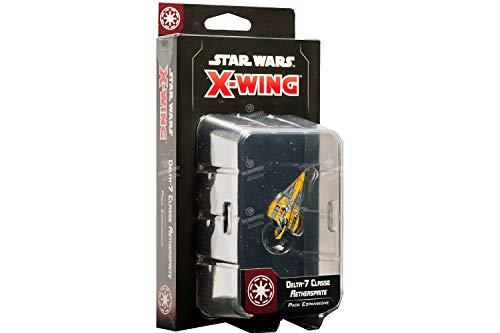 Asmodee- Star Wars X-Wing Delta-7 Classe Aethersprite, Colore, 9959