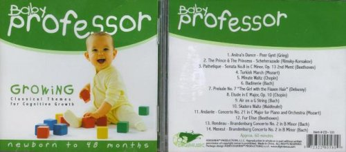 [Audio CD] Baby Professor Growing (Classical Themes for Cognitive Growth)