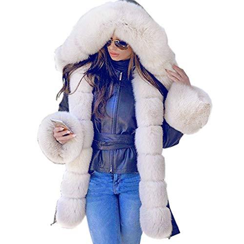 FRAUIT dames winterjas luxe bontkraag parka voor jas jas met capuchon Fishtail Warm overcoat vokspelt binnenvoering