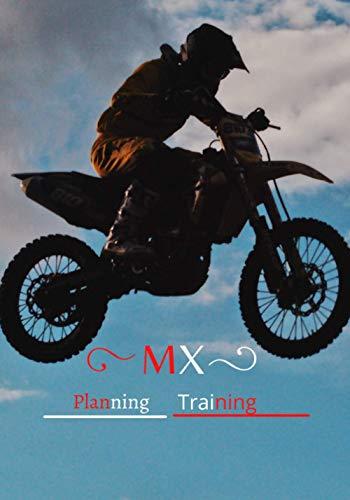 MX Planning training: Moto cross bike for training Notebook7x10 medium.
