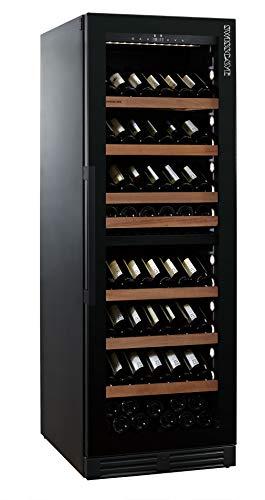 Multifunktionaler Black Edition 2-Zonen Weintemperierschrank WLB-460DFLD mit GASTRO Ausstattung (168-200 Fl.) / inkl. Lieferung aufs Stockwerk (D)