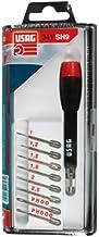 USAG 341 SH9 - Cacciavite di precisione con 8 lame intercambiabili 03410015