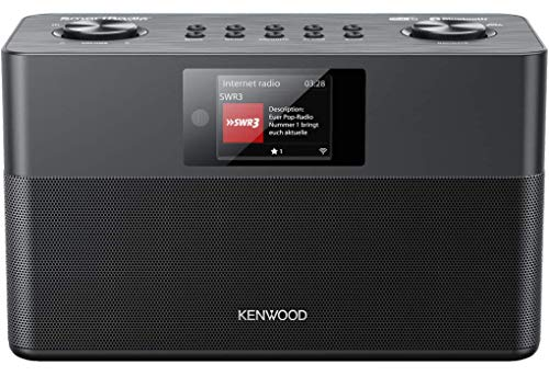 Kenwood CR-ST100S-B - SmartRadio mit DAB+, UKW, WLAN Internetradio, USB, Spotify Connect und Bluetooth Audio-Streaming, schwarz