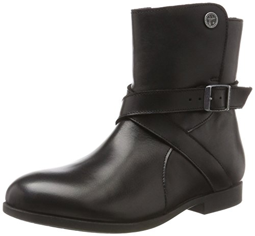 BIRKENSTOCK Shoes Damen Collins Stiefel, Schwarz (Black), 38 EU