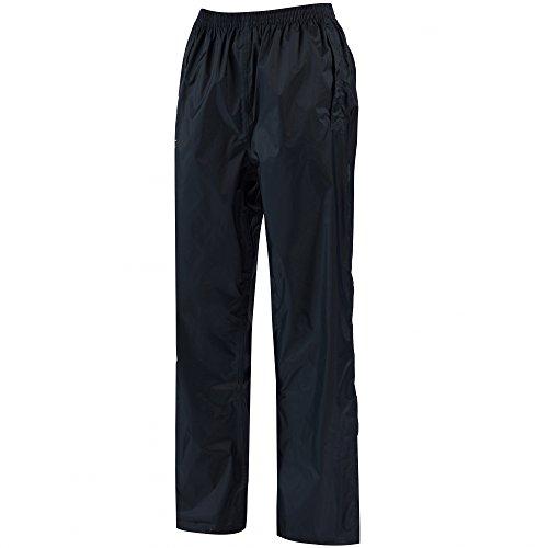 Regatta Damen Pack-it Leichte, Wasserdichte und Atmungsaktive Überziehhose, Blau (marine), 42-44