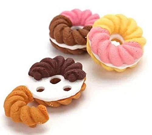 Boner Valentijnsdaggeschenken Frans Dessert IJs Cirkel Brood Malone Gum verwijderbare rubberen polijstgommen, A