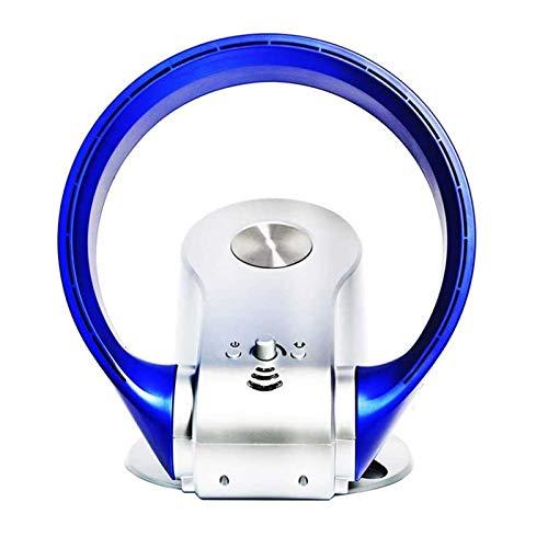 Adesign Ventilador eléctrico de ventilador de aire eléctrico, ventilador, anillo pequeño sin hojas, ventilador de soporte de frío, ventilador de seguridad tranquila para el dormitorio de la oficina en