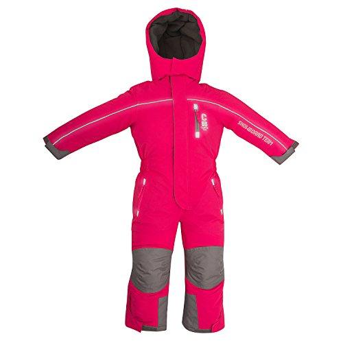 Outburst Kinder Ski Overall Pink Gr. 98 wasserdicht atmungsaktiv - Schneeanzug Skianzug