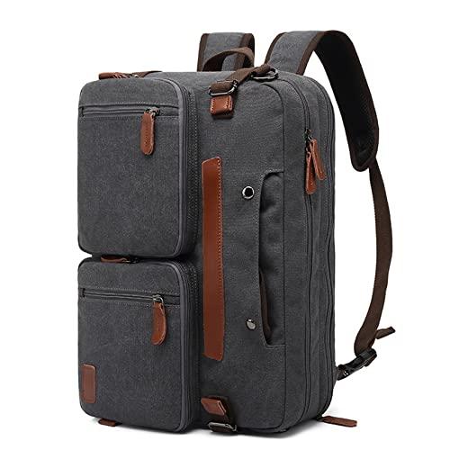 ZSDFW - Zaino da uomo da 30 l, impermeabile, impermeabile, da viaggio, per università, studenti, ragazzi, per tornare a scuola, regalo per uomini, 45,6 cm, grigio